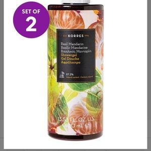 Korres Mandarin Basil Creamy Foam shower Gel (2)